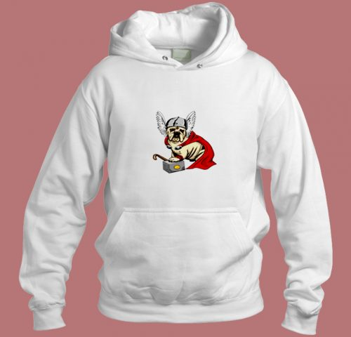 The Mighty Bulldog Thor Aesthetic Hoodie Style
