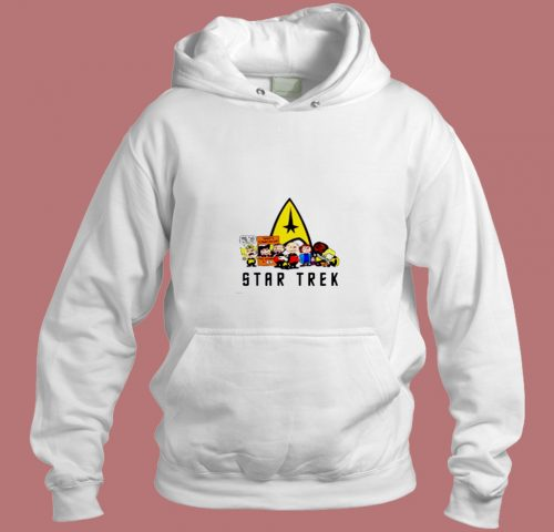 The Peanuts Star Trek Snoopy And Friends Aesthetic Hoodie Style