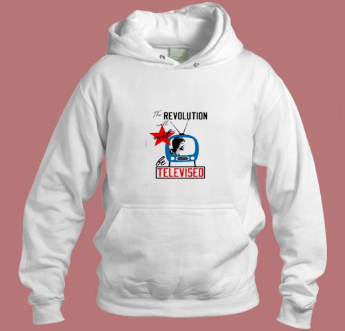 The Revolution Televised Aesthetic Hoodie Style