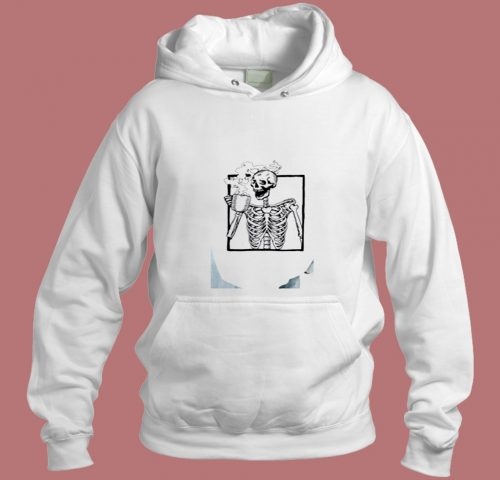 The Ripper Drinking Coffee Aesthetic Hoodie Style