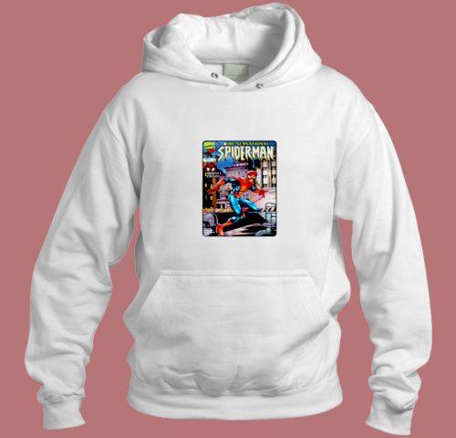 The Sensational Spiderman Aesthetic Hoodie Style