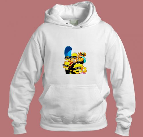 The Simpsons Family Aesthetic Hoodie Style