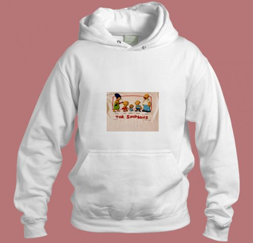 The Simpsons Family Mom Lisa Maggie Bart Dad Aesthetic Hoodie Style