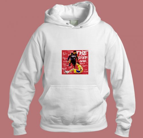 The Step Over Aesthetic Hoodie Style