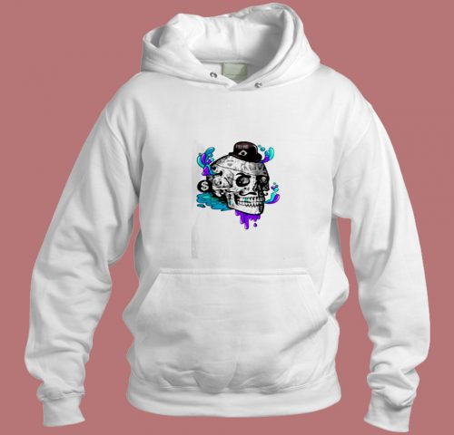 The Tattooed Gentleman A Line Aesthetic Hoodie Style