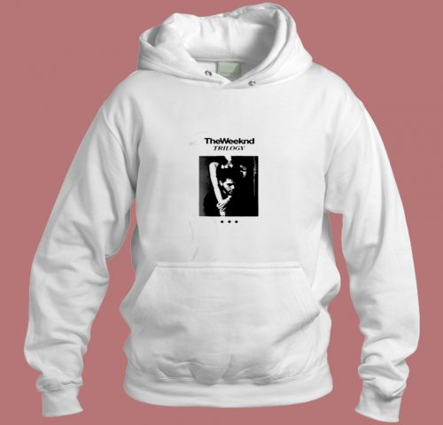 The Weeknd Trilogy Album Cover Aesthetic Hoodie Style