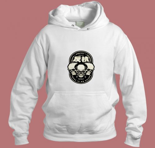 There Is No Escape Badass Skull Logo Punk Rebel Vector Aesthetic Hoodie Style