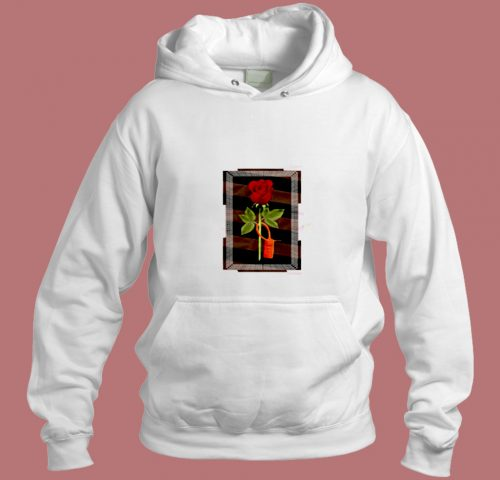 Travis Scott 1 Redrum Rose Aesthetic Hoodie Style