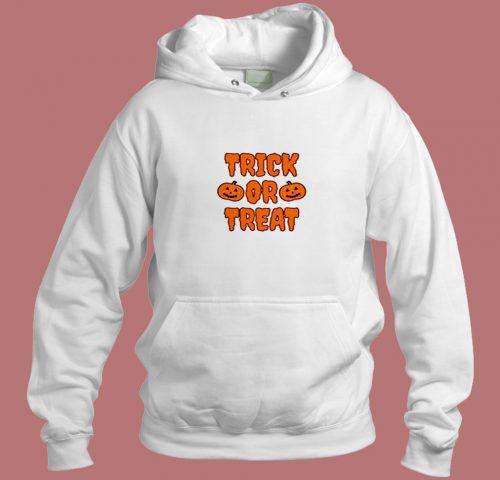 Trick Or Treat Aesthetic Hoodie Style