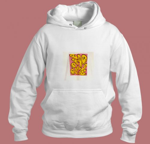 Trippy Smiling Aesthetic Hoodie Style