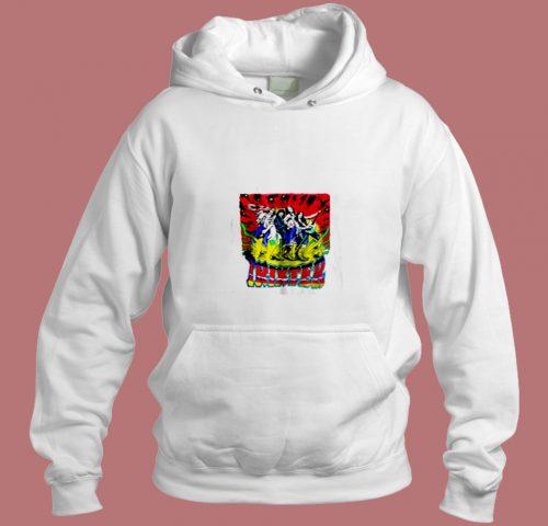 Trixter 80s Metal Rock Concert Ratt Skid Aesthetic Hoodie Style