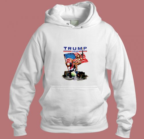 Trump Drain The Swamp With Melania Aesthetic Hoodie Style