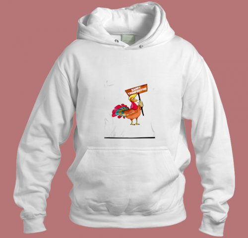 Trump Sgiving Thanksgiving Turkey Pun Aesthetic Hoodie Style