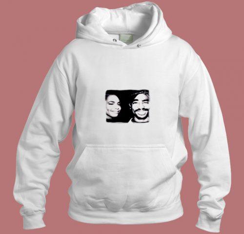 Tupac And Aaliyah Aesthetic Hoodie Style