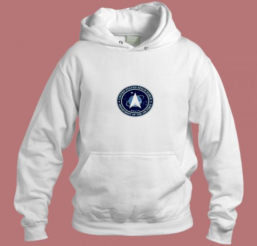United States Space Force Aesthetic Hoodie Style