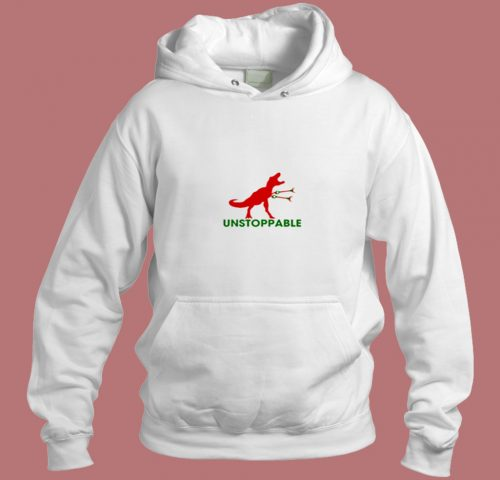 Unstoppable T Rex Aesthetic Hoodie Style
