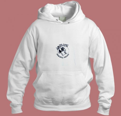 Vintage 1987 Peaceful Valley Bluegrass Festival Opening Day Aesthetic Hoodie Style
