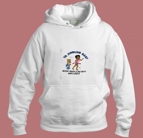 Vintage 90s Bart Simpson Betty Boop Aesthetic Hoodie Style