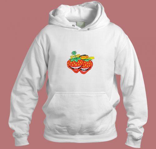 Vintage Pop Rocky Strawberry Magazine Aesthetic Hoodie Style