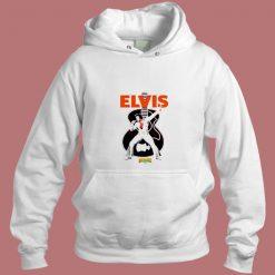Vintage Retro Elvis Presley Ringer Unisex Aesthetic Hoodie Style