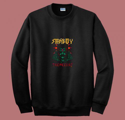 Vintage Starboy The Weeknd 80s Sweatshirt