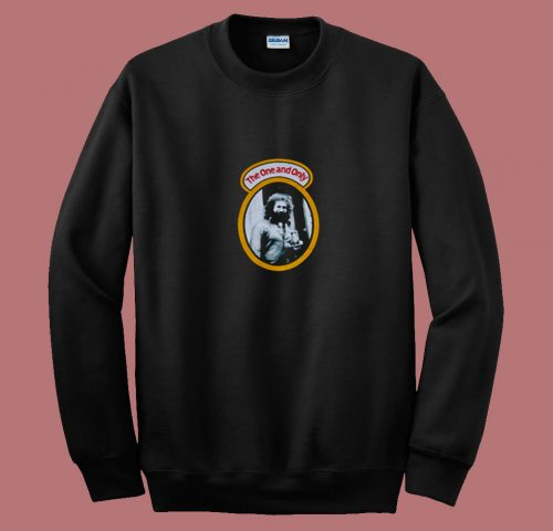 Vintage The One And Only Jerry Garcia 80s Sweatshirt