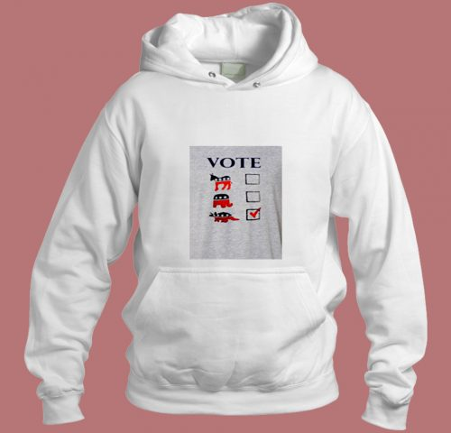 Vote Dinosaur Aesthetic Hoodie Style