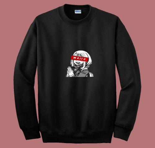 Waifu Uraraka My Hero Academia Anime 80s Sweatshirt