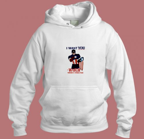 Watch Your Language Aesthetic Hoodie Style