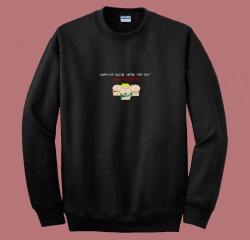 Weinersout South Park 80s Sweatshirt