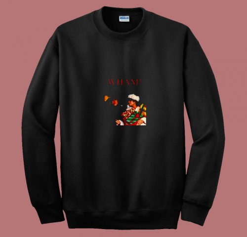 Wham Last Christmas 80s Sweatshirt
