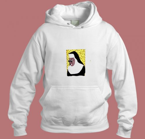 Whoopi Goldberg Nun 90s Aesthetic Hoodie Style