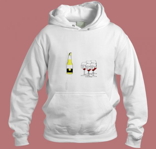 Wine And Corona Aesthetic Hoodie Style