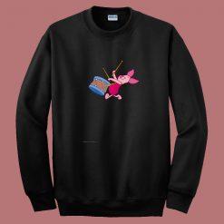 Winnie The Pooh Piglet 80s Sweatshirt