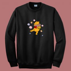 Winnie The Pooh Quote 80s Sweatshirt