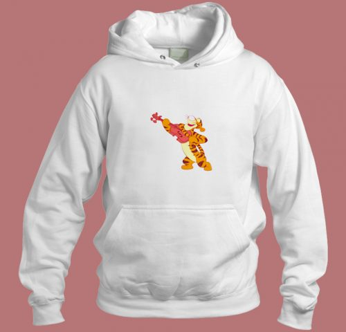 Winnie The Pooh Tigger Design For Holidays Aesthetic Hoodie Style