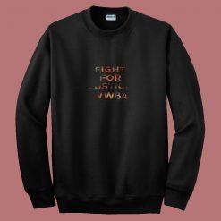 Wonder Woman 84 Fight For Justice 80s Sweatshirt