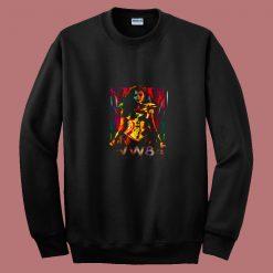 Wonder Woman 84 Golden Warrior 80s Sweatshirt