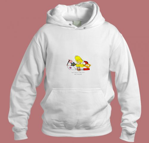Work From Home Classic Aesthetic Hoodie Style