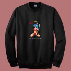 World Anime Expo Philadelphia 2002 80s Sweatshirt
