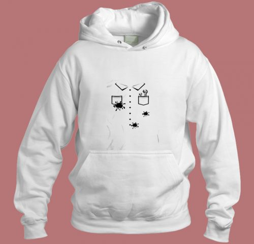 Wrenches Grease Stains Car Auto Mechanic Halloween Aesthetic Hoodie Style