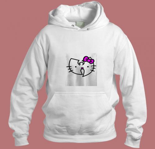 Wu Tang Clan Hello Kitty Aesthetic Hoodie Style