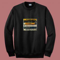 Wu Tang Clan Hip Hop Cassette Tape 80s Sweatshirt