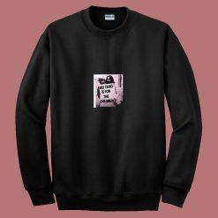 Wu Tang Is For Children John Lennon 80s Sweatshirt