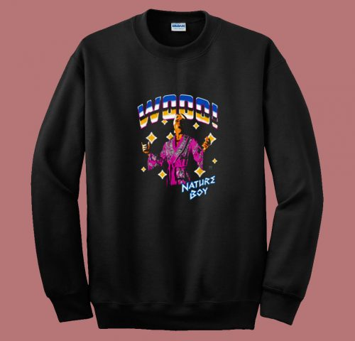 Wwe Ric Flair Wooo Nature Boy 80s Sweatshirt