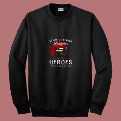 Wwii Veteran Daughter T Shirt I Was Raised 80s Sweatshirt