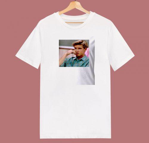 Zack Morris 80s T Shirt