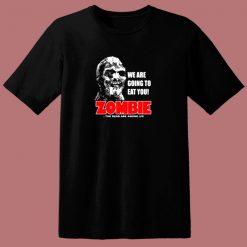 Zombie Classic Horror Movie 80s T Shirt