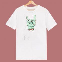 Zombie Hand 80s T Shirt
