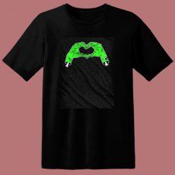 Zombie Heart 80s T Shirt